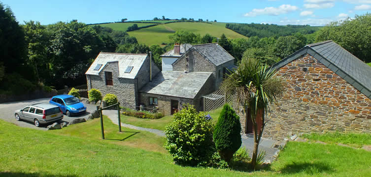 Lower Pencubitt self catering holiday cottages